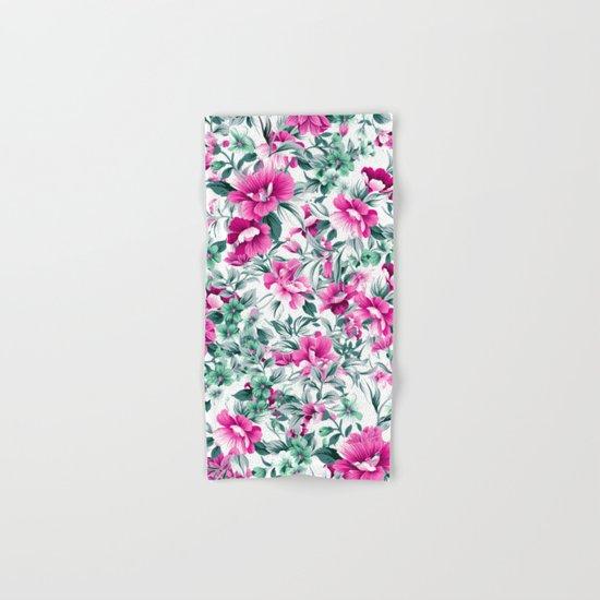 FLORAL PATTERN 92 Hand & Bath Towel