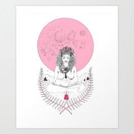 Full Moon in Cancer Art Print