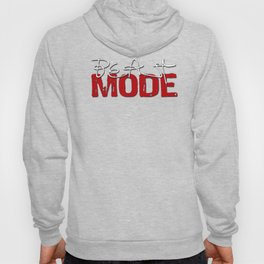 Beast Mode / Red and White Hoody
