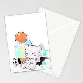 Moogle trumpet! Stationery Cards