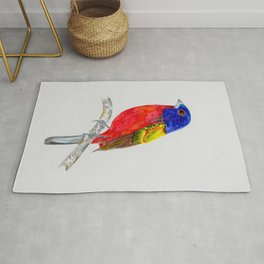 Painted Bunting Sentinel Rug