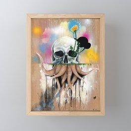 Skull Roots Framed Mini Art Print