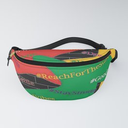 Hashtags Up Fanny Pack