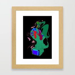 Grasped by The Roots Framed Art Print