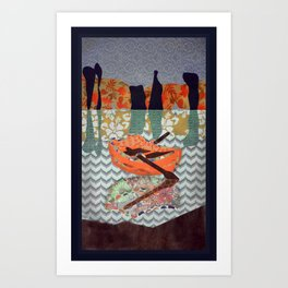Small Boat  Art Print
