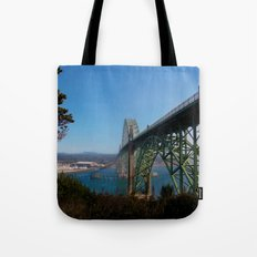 Cross Over Into Paradise Tote Bag