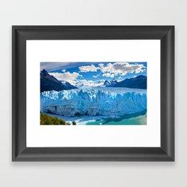 Ice Scape Framed Art Print
