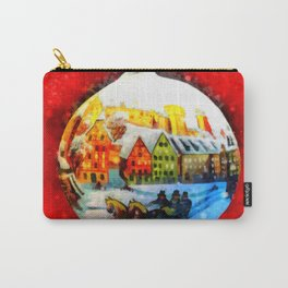 Christmas Scene Carry-All Pouch