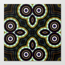 Crop Circles Of My Mind Canvas Print