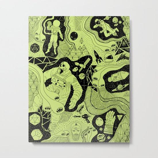 Cosmic Atomic  Metal Print