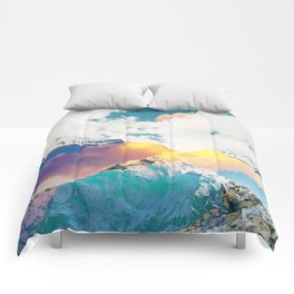 Dreaming Mountains Comforters