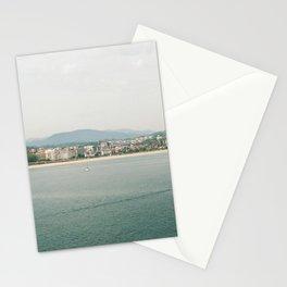 La Concha Beach, San Sebastian - Donostia-San, Spain III Stationery Cards