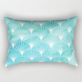 Mermaid Fans: Maldives Sea Rectangular Pillow