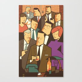 Madison Avenue Canvas Print