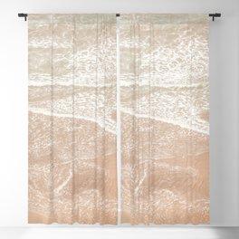 Sandy beach Blackout Curtain