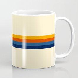 Haruhisa - Classic Minimal Retro Stripes Coffee Mug