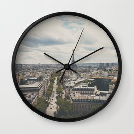 from atop the Arc ... Wall Clock