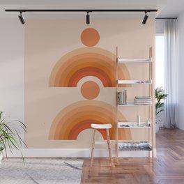 Abstraction_SUN_Rainbow_Minimalism_005 Wall Mural