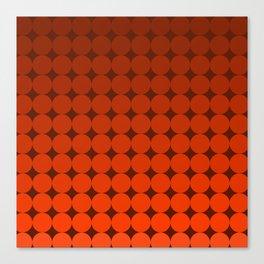 Redd Circles Canvas Print
