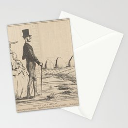 A Summer Sketch  Parisians in the Countryside,1857 Stationery Cards