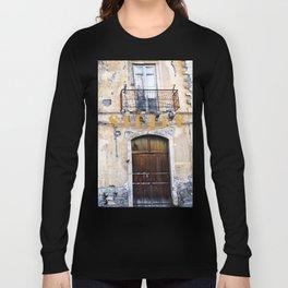 Antique Facade - Sicily Long Sleeve T-shirt