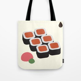 Spicy Tuna Roll Tote Bag