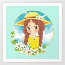 Lovely Summer Art Print