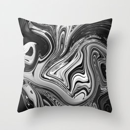 LOST IN BANGKOK - BLACK Throw Pillow