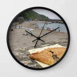 Polkerris Pasty Wall Clock