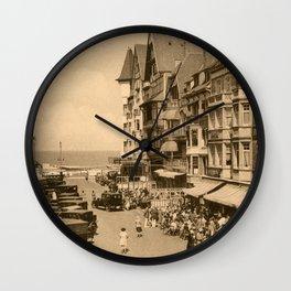 Knokke 1920s The aperitif hour Wall Clock