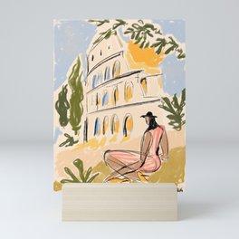 When in Rome Mini Art Print
