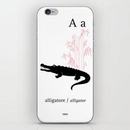 A/Alligator iPhone Skin