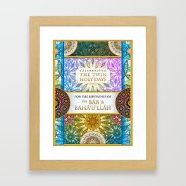 The Twin Holy Days Framed Art Print