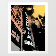 Alexandria Hotel Art Print