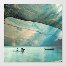 Living in Aquatopia Canvas Print