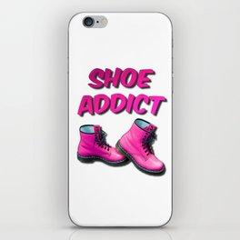 Shoe Addict iPhone Skin