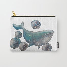 The Planets of Whale Carry-All Pouch