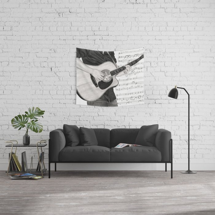 A Few Chords Wall Tapestry