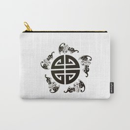 Chinese 5 blessings symbol Carry-All Pouch