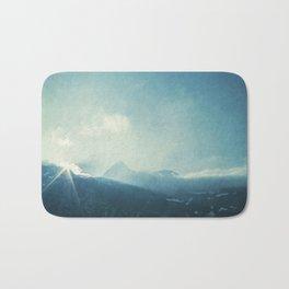 LightFall - Sunrise over the Italian Alps Bath Mat