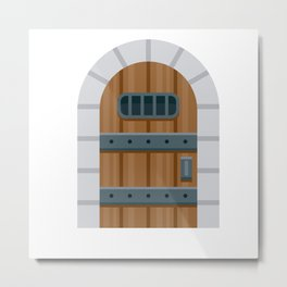 Enter the dungeon Metal Print