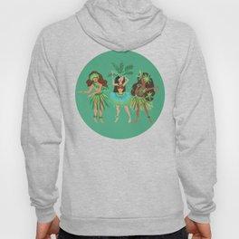 Luau Girls on Mint Hoody