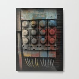 Power Surge Metal Print