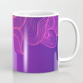 Heat Wave II Abstract Waves Coffee Mug