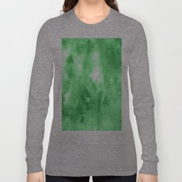 Green watercolor Long Sleeve T-shirt