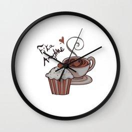 Fika Anytime! Wall Clock