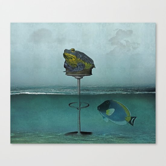 Toadstool Obviously Canvas Print