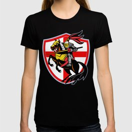 Medieval Knight Crest Jousting Shield Sigil T-shirt