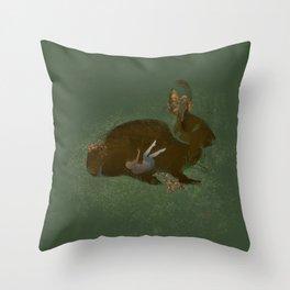 Burrow Throw Pillow