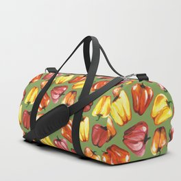 Bell Peppers Pattern Duffle Bag